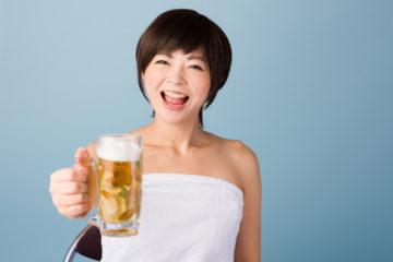 風呂上がりビール