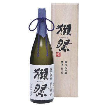 日本酒 獺祭の味の違い2