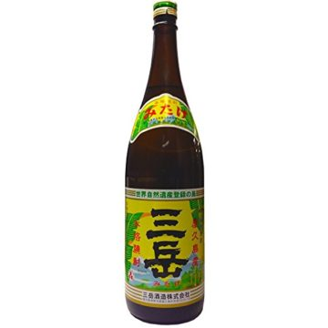 芋焼酎 三岳の味1