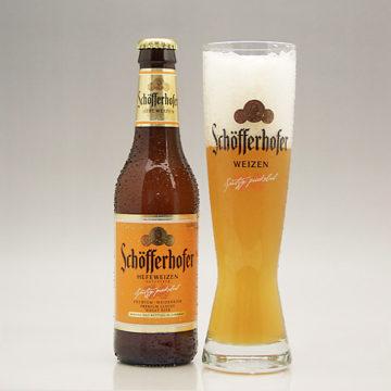 飲みやすい甘いドイツビール1