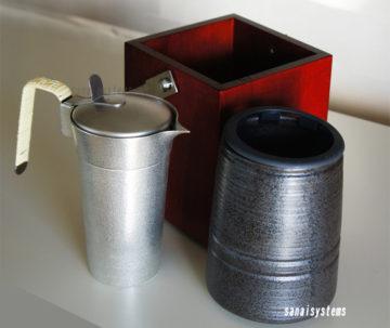 湯煎できる家庭用卓上おすすめ酒燗器1