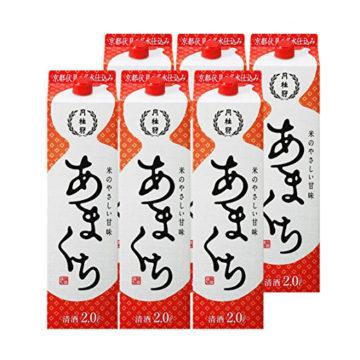 安くて美味しい甘口紙パック日本酒1