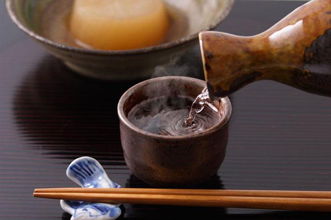 紙パック日本酒で熱燗