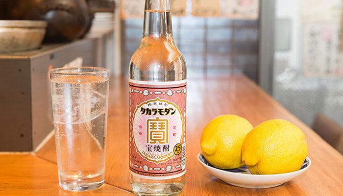 レモンサワーに合う焼酎