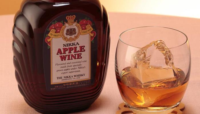 ニッカアップルワインの美味しい飲み方