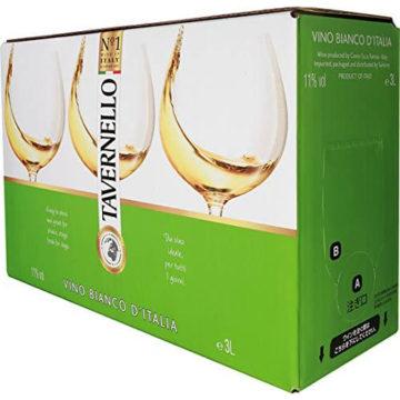 美味しい白の箱ワイン